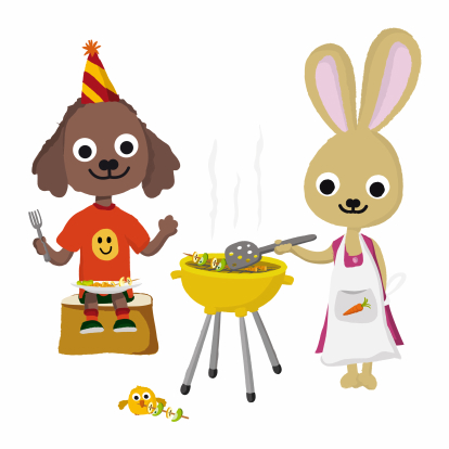 Beste Tekst barbecueverjaardag - Uitnodiging verjaardag OK-63