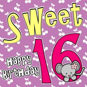 Sweet 16 Feest Archives Uitnodiging Verjaardag